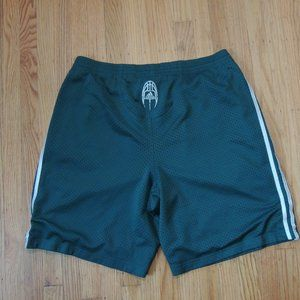 Adidas Basketball Early 00s Shorts Green White